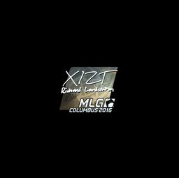 Sticker | Xizt (Foil) | MLG Columbus 2016