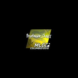 Sticker | Professor_Chaos (Foil) | MLG Columbus 2016