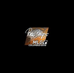 Sticker | pashaBiceps (Foil) | MLG Columbus 2016
