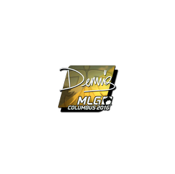 Sticker | dennis (Foil) | MLG Columbus 2016