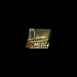 Sticker | DAVEY | MLG Columbus 2016