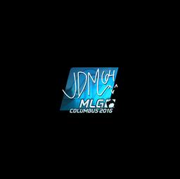 Sticker | jdm64 (Foil) | MLG Columbus 2016