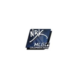 Sticker | NBK- | MLG Columbus 2016