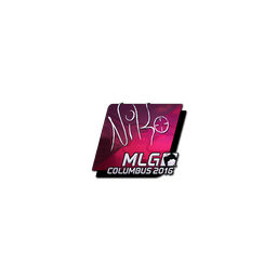 Sticker | NiKo (Foil) | MLG Columbus 2016