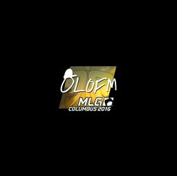 Sticker | olofmeister (Foil) | MLG Columbus 2016