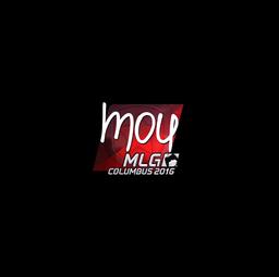 Sticker | mou (Foil) | MLG Columbus 2016