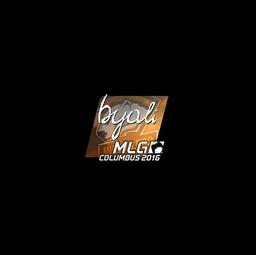 Sticker | byali (Foil) | MLG Columbus 2016