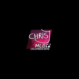 Sticker | chrisJ (Foil) | MLG Columbus 2016