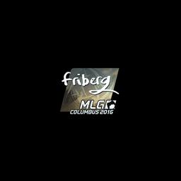 Sticker | friberg (Foil) | MLG Columbus 2016