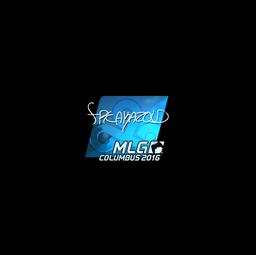 Sticker | freakazoid (Foil) | MLG Columbus 2016