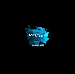 Sticker | reltuC (Foil) | Cologne 2016