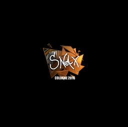 Sticker   Snax (Foil)   Cologne 2016