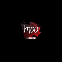 Sticker | mou | Cologne 2016