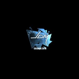 Sticker | jdm64 (Foil) | Cologne 2016