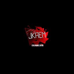 Sticker | jkaem (Foil) | Cologne 2016