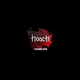 Sticker | hooch | Cologne 2016