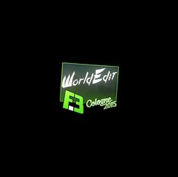 Sticker | WorldEdit | Cologne 2015