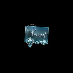 Sticker | rallen (Foil) | Cologne 2015