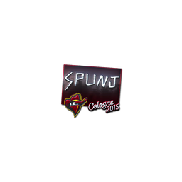 Sticker | SPUNJ (Foil) | Cologne 2015