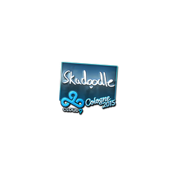 Sticker | Skadoodle (Foil) | Cologne 2015