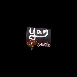 Sticker   yam   Cologne 2015