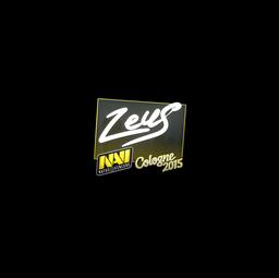 Sticker | Zeus | Cologne 2015