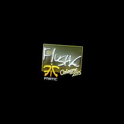 Sticker | flusha (Foil) | Cologne 2015