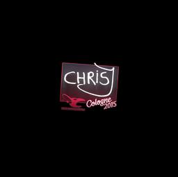 Sticker | chrisJ | Cologne 2015