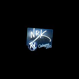 Sticker | NBK- (Foil) | Cologne 2015