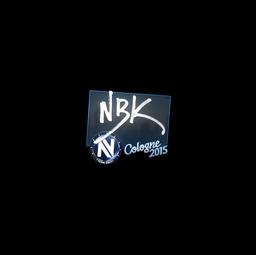 Sticker | NBK- | Cologne 2015