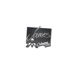 Sticker | James | Cologne 2015