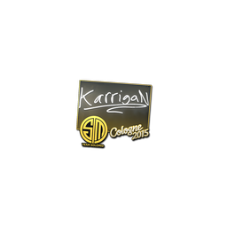 Sticker | karrigan | Cologne 2015