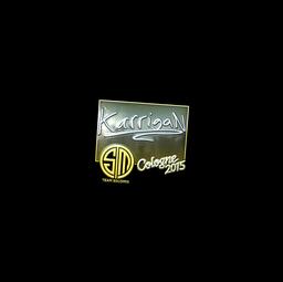 Sticker | karrigan (Foil) | Cologne 2015