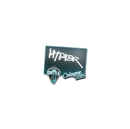 Sticker | Hyper | Cologne 2015