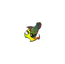 Sticker | Devouring Flame (Holo)