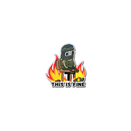 Sticker | This Is Fine (CT)