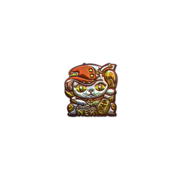 Sticker | Lucky Cat (Foil)