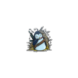 Sticker | War Penguin