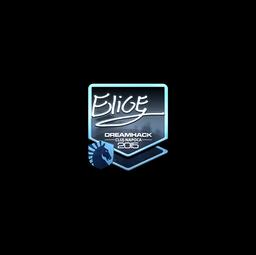 Sticker | EliGE (Foil) | Cluj-Napoca 2015