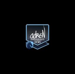 Sticker | adreN | Cluj-Napoca 2015