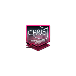 Sticker | chrisJ (Foil) | Cluj-Napoca 2015