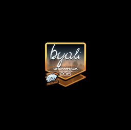 Sticker | byali (Foil) | Cluj-Napoca 2015