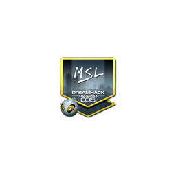Sticker | MSL (Foil) | Cluj-Napoca 2015