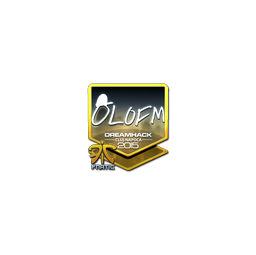 Sticker | olofmeister (Foil) | Cluj-Napoca 2015