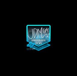 Sticker | jdm64 (Foil) | Cluj-Napoca 2015
