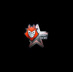 Sticker | G2 Esports (Foil) | Cluj-Napoca 2015