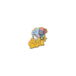 Sticker | Door Stuck (Foil)