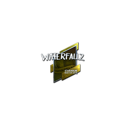 Sticker | waterfaLLZ (Foil) | Boston 2018