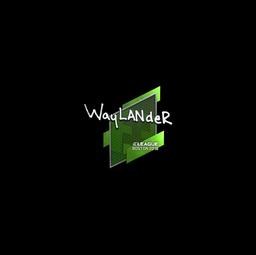 Sticker | wayLander | Boston 2018