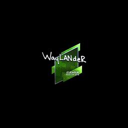 Sticker | wayLander (Foil) | Boston 2018